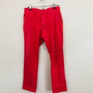 Vineyard Vines Pink Slim Leg Chino Pants 32x32